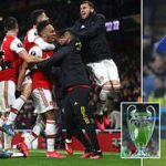 How Arsenal And Man Utd Can Return To Champions League If 2019/20 Premier League Is Cancelled