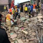One Dead As Building Collapses In Oyo State (PHOTOS)