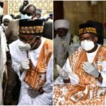 PHOTOS: Governor Bala Mohammed Attends Crowded Juma'at Service After Recovering From Coronavirus