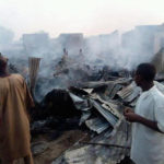 UPDATE: Shops, pharmacy gutted by fire in Kaduna (photos)