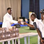 PHOTOS & VIDEO: Billionaire Prophet, Jeremiah Fufeyin Gives Back Tithe And Offering To Nigerians To Fight Covid-19