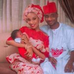 Dethroned Emir Of Kano's Son, Aminu Sanusi Wecome Welcomes A Baby Girl With Wife (Photos)