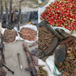 Kidnap Kingpin Killed In Rivers State, Large Cache Of Arms Recovered (PHOTOS)