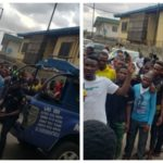 Naira Marley's Fans Defy Lockdown, Storm Court To Show Support To Him (PHOTOS)