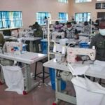 Nigerian Air Force Begins Mass Production Of Face Masks And Medical Kits (Photos)