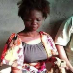 Single Mother Caught Burying 3-Month-Old Baby Alive, Confesses (GRAPHIC PHOTOS)