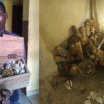 Suspected Ritualist Arrested In Lagos (PHOTOS)