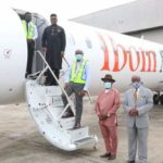 PHOTOS: Ibom Air 4th Aircraft Unveiled By Governor Udom