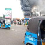 Fire guts Ogbogonogo market, Asaba (photos)