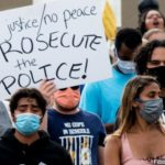 George Floyd protesters: No justice unless all four cops charged