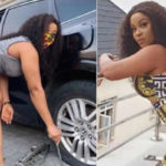 Nollywood Actress Inem Peter's 'High Voltage' Pictures Dint Go Well With Follower