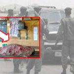 Angry Youths Dumps Corpse At Police Station After Pregnant Woman In Labour Dies At Police Checkpoint In Ogun (PHOTOS)