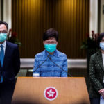 Hong Kong leader accuses US of 'double standards' over protests