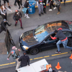 Gun-Wielding Man Drives Into Protest And Shoots One Protester In Seattle (Photos)