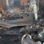 Photos: Fire Razes Twenty Shops And Five Houses In Akure