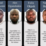6 Nigerian Cyber Criminals Sanctioned By U.S For Stealing $6m From Individuals And Businesses