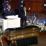 Celebrities, politicians flock to George Floyd's memorial service in Minneapolis