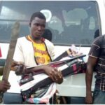 Amotekun Corps Intercepts Northern Youths In Osun, Seize Weapons And Charms (photos)