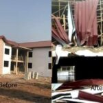 Nigerian diplomatic building attacked in Ghana