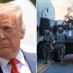 George Floyd death: Trump threatens to send in army to end unrest