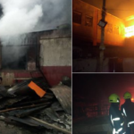 Fire Razes Popular Oba Market In Benin (Photos)