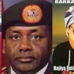Sani Abacha's daughter, Gumsu cries out as her alleged campaign poster goes viral