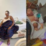 Nigerian Woman Gang-Raped In Ghana Loses Her Newborn Baby Conceived From The Rape Incident (photos)