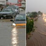 Lagosians Lament As Lekki, Ikeja, Others Flooded By Rain (photos & video)