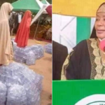 Bauchi State First Lady Empowers Women, Distributes Bags Of Sachet Water As Business Start-Ups (photos)