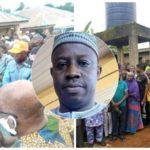 PHOTOS: Social Distancing Violated At Osun Council Boss, Owonikoko's Burial