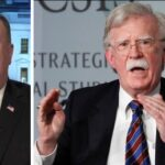 Pompeo compares ex-security advisor John Bolton to Edward Snowden