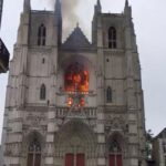 Man in custody in connection with Nantes cathedral fire