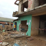 PHOTOS: Another Building Collapses In Lagos