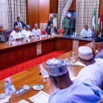 Breaking: President Buhari Adjourns Meeting With APC Governors