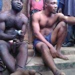 Abia Community Nabs Suspected Armed Robbers, Recovers Gun And Bullets