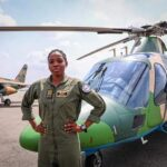 PHOTOS: Nigeria's first female combat helicopter pilot Arotile dies