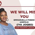 Radio Presenter, Emmanuella Adepoju, Popularly Called Iya Jogbo is Dead