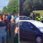 UK Hospital On Lockdown After Man Stabs Staff (PHOTOS)