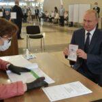 Russian voters endorse President Vladimir Putin's rule extension until 2036