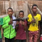 Ogun Police Parade Five Teenage Suspected Armed Robbers