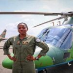 How first female combat helicopter pilot was killed by old schoolmate
