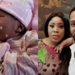 Actor Sunkanmi Omobolanle And Wife Welcome Baby (photos & video)
