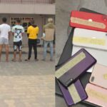 9 suspected Yahoo boys arrested in Port Harcourt (photos)