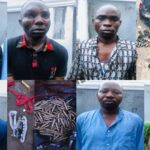 Alleged Suspects Involved In Ebonyi Bullion Van Robbery Were Dismissed Soldiers, Nigerian Army Says (PHOTOS)