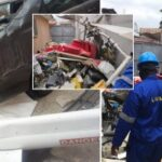 'Fake Sympathisers' Stole Phones And Cash Of Lagos Helicopter Crash Victims, Eyewitness Reveals