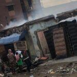 Fire Guts Shops, Kiosks At Adeniji Adele Market In Lagos