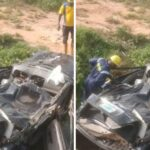 Four Dead On Lekki-Epe Expressway As Toyota Camry Somersaults