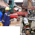 UPDATE: Helicopter Crashes Into Building In Lagos (photos)