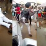 Man Rolls Inside Mud In Owerri After Girlfriend Rejected Proposal (Photos & Video)