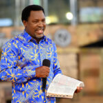 Isreali Tourism Minister Presents National Award To Prophet TB Joshua